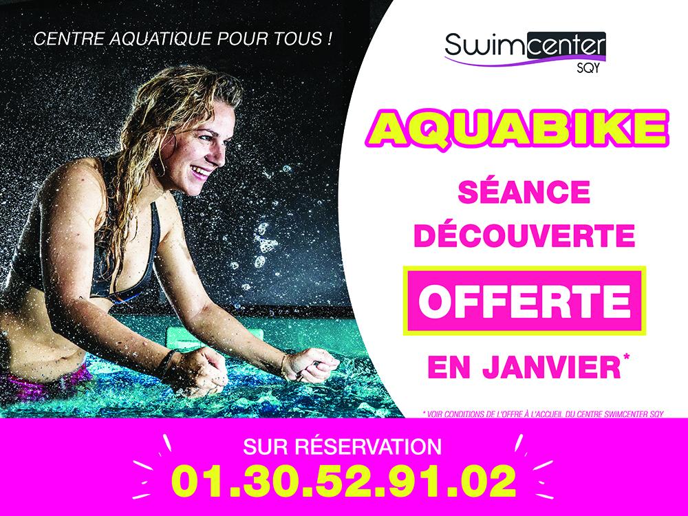 Offre janvier 19 Swimcenter Saint Quentin en Yvelines