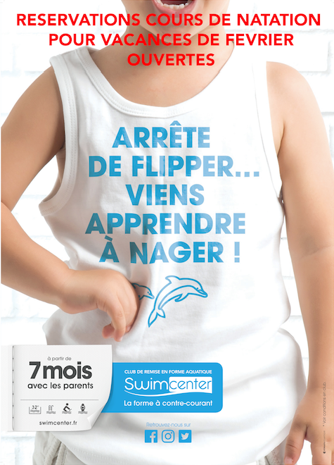 stages enfants swimcenter orleans