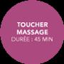 Toucher Massage, Lacher prise
