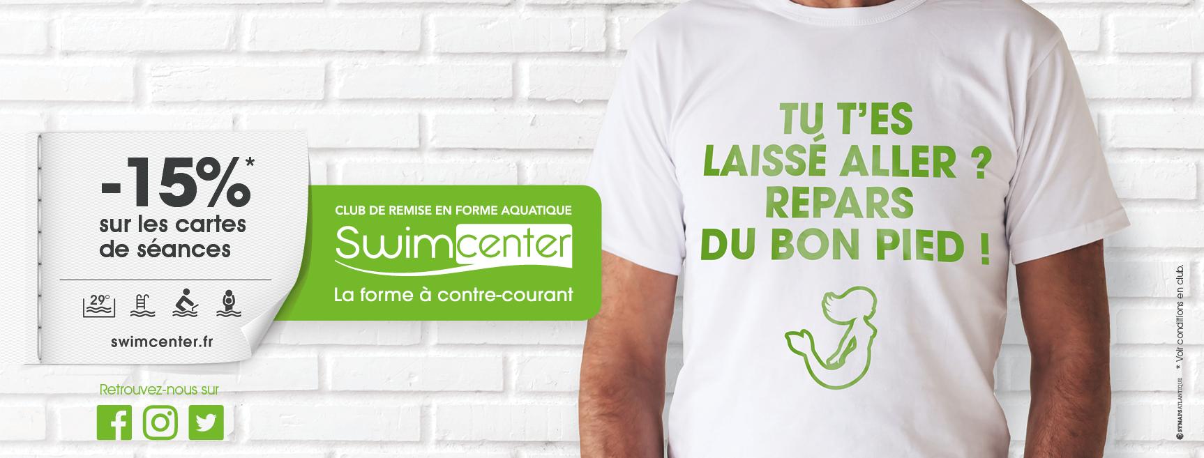 Offre mai Swimcenter Bordeaux Pessac