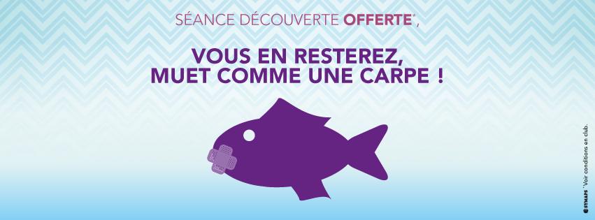 Séance découverte offerte Swimcenter Rouen