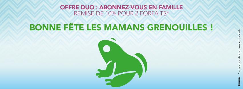 Bonne fête les Mamans Grenouilles !